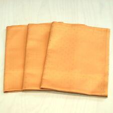 3 Leinen Geschirrtücher, Küchentücher, Geschirrtuch Pünktchen 50 x 70 cm apricot