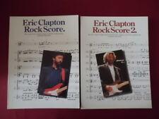 Eric Clapton - Rock Score 1 & 2 . Songbooks Notenbücher für Bands (Transcribed S