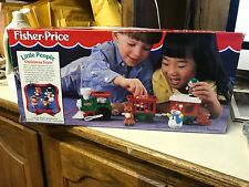 FISHER PRICE LITTLE PEOPLE CHRISTMAS TRAIN 1998 COLLECTIBLE NIB