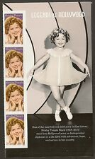 US 5060 Legends of Hollywood Shirley Temple forever panel vert strip 4 MNH 2016
