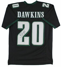 Eagles Brian Dawkins Authentic Signed Black Jersey Autographed BAS Witnessed