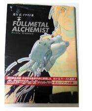 Fullmetal Alchemist Hiromu Arakawa Illustration Collection Art Book New