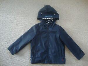 Joules baby boy's shark rain coat age 18-24 - Right as Rain