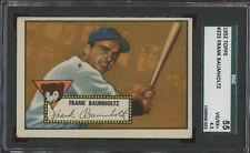 1952 Topps #225 Frank Baumholtz Chicago Cubs SGC 55 VGEX+ 4.5