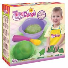 TrueDOUGH - Make Your Own Modelling Dough Play Doh Set - Single Lime Green