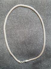 herren halskette silber 925, gebraucht 30 gr. Länge mit Öse 52cm Breite 0,5cm
