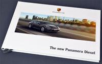 Porsche New Panamera Diesel 4/2013 - brochure / book