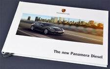 Porsche New panamera diesel 4/2013 - brochure/Book