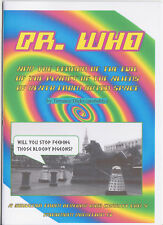 Charity fanzine (and v funny!): Doctor Who and the Terror of the Evil of the...!