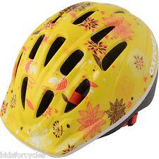 Oxford vélo bicyclette enfants filles Poppet ENFANTS JUNIOR casque jaune 46-50cm