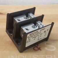 600VAC Marathon: 6SC30A2I Fuse Block 2 Pole Ultrasafe Class CC 30A w//Ind