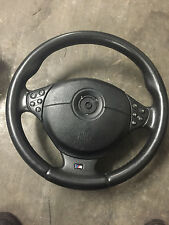 BMW E39 M5 528i E46 M3 328i DRIVER SPORT M STEERING WHEEL LEATHER W/ AIRBAG OEM