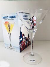 Colección resolución!!! absolut vodka martini londres vidrio rara vez */rare * nuevo *