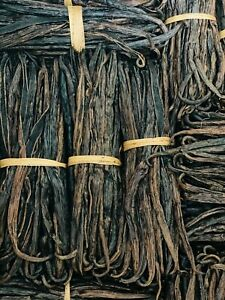 10 Vanilla Beans, 7 inches, Split, Great for Extract