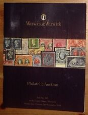 Warwick & Warwick Philatelic Auction Catalogue 07/11/2018