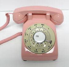 Pink and Ivory 500 Desk Telephone - Full Restoration