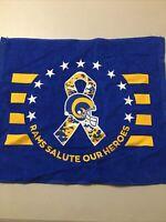 LA Rams Rally Towel Military Salute SGA Brand New