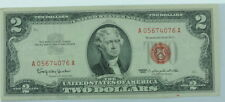 1963 U.S. Two Dollar $2 Red Seal Paper Currency P256151
