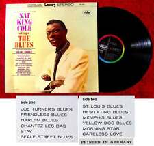 LP Nat King Cole Sings The Blues