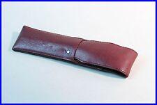 MONTBLANC elegant SIENNA Leather pouch, etui for 1 LARGE fountain pen ballpoint