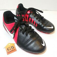 12C Size Soccer Cleats shoes Nike Black Red