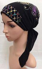 Muslim Women Hijab Cancer Hat Chemo Inner Cap Hair Loss Head Scarf Turban Wrap