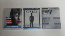 Fifty Shades Freed / Fifty Shades Of Grey / Fifty Shades Darker Steelbook Combo