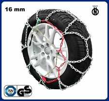 Snow chains 4x4-suv - gr.270 vans approved Diamond 16mm Mis. (33x12,5r15)
