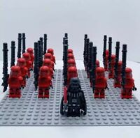 20x Red Storm Troopers Mini Figures (LEGO STAR WARS Compatible)