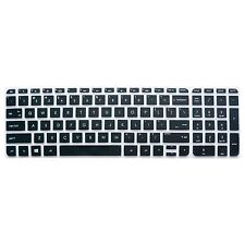 Black Keyboard Protector Cover Skin for HP Pavilion ENVY 15series / ENVY m6-k***