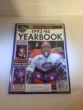 The Hockey News 1993-94 Yearbook Mario Lemieux Patrick Roy Doug Gilmour roc1