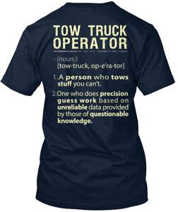 Fun Awesome Tow Truck Operator Premium Tee T-Shirt Premium Tee T-Shirt