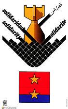 Political OSPAAAL Graphic Solidarity cuban poster.Don't nuke Vietnam.War.asia 19