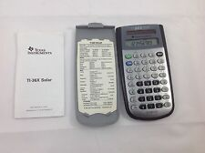 Texas Instruments Ti-36X Solar Calculator Scientific Case Instructions 2004