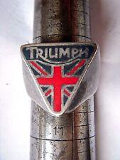 TRIUMPH LOGO MEN'S  TRIANGULAR SHAPED RING  Size10