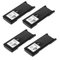 4x 2100mAh WPNN4013 NTN7143CR Battery for MOTOROLA HT1000 GP2010 MTX-LS MT2000