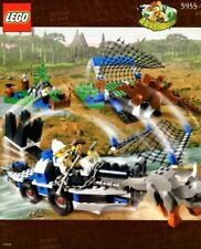 LEGO ALL TERRAIN TRAPPER 5955 Set Dino Island Stegosaurus Triceratops dinosaurs