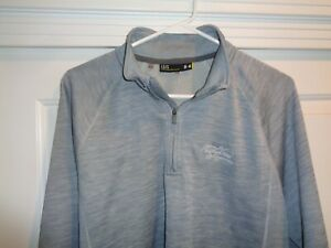 Under Armour Loose Large Golf 1/4 Zip Pullover Sweater - Red Hawk Ridge - NICE!