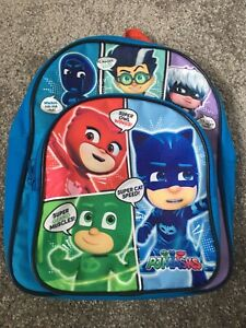Pj Mask Backpack Excellent Condition Hardly Used