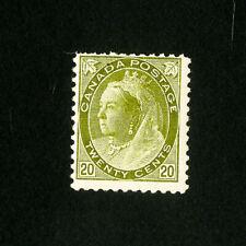 Canada Stamps # 84 F Fresh OG HR Catalog Value $650.00