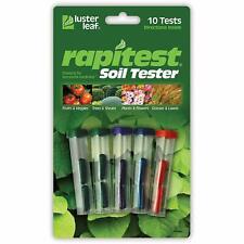 Luster Leaf Rapitest 1609CS Soil Lawn Garden Farm PH NPK Tester Test Testing Kit