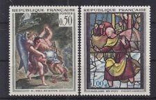 Frankreich 1963  Mi. 1426 - 1427 Gemälde postfrisch MNH