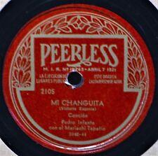 Pedro Infante con el Mariachi Tapatio Mi Changuita Peerless 78 2105 Latin Noche
