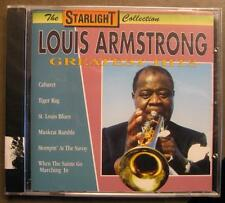 """Louis Armstrong """"greatest hits"""" - CD-NEUF dans sa boîte"""