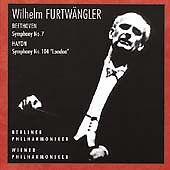 FURTWÄNGLER, WILHELM - SYMPHONY NO. 7 / HAYDN: SYMPHONY NO. 104 NEW CD