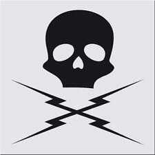 Aufkleber Death Proof Kult Film TV Skull Totenkopf 55