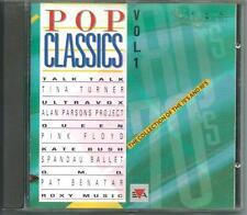 POP CLASSICS 70´s AND 80´s 1990 DUTCH CD PINK FLOYD ALAN PARSONS OMD ROXY MUSIC