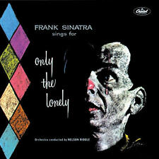 """FRANK SINATRA - """"Only the Lonely"""" CD (with 3 bonus tracks) - Ex Condition"""