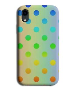 Rainbow and Multicolour Spotted Phone Case Cover Spots Spotty Colourful i478