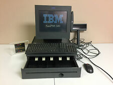 Ibm Sure Pos 500 Touchscreen Point Of Sale Cash Tinkeyboard Mouse